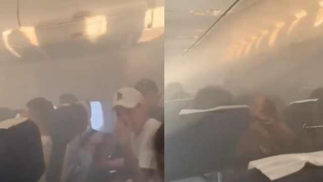 飞无锡波音737因客舱烟雾返航曼谷