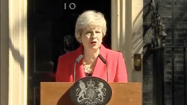快讯!英国首相特蕾莎·梅宣布辞职