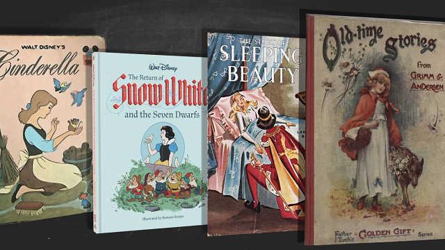 小时候的童话故事怎么都变味了呢?