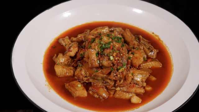 紅燒鮰魚,來自長江的美食問候!