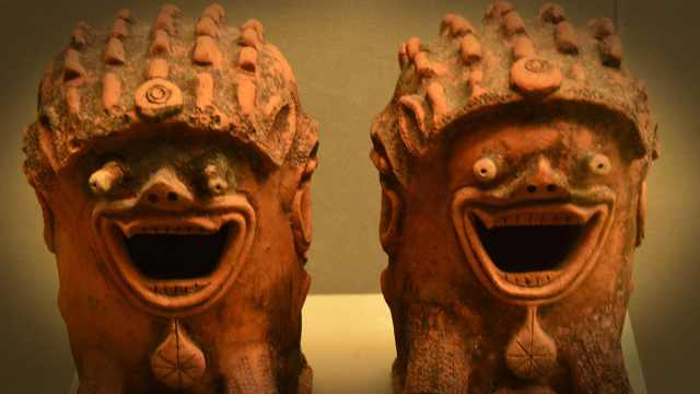 某些文物活着活着就成了表情包