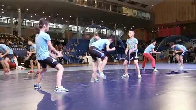 跳绳世界杯,中国小学生勇夺60金