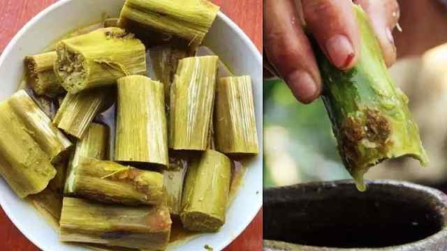 直播:绍兴霉苋菜梗,用它泡出臭豆腐