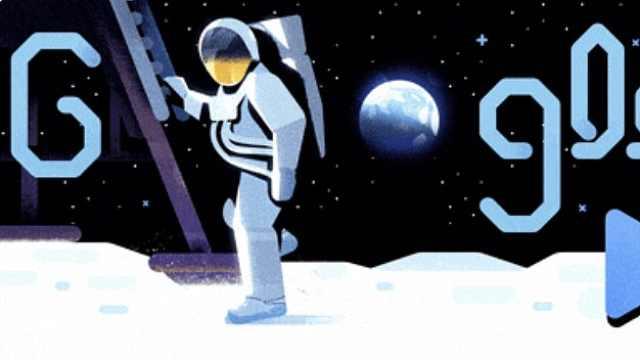 谷歌发布纪念人类登月50周年动画