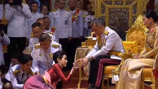 87年来首次!泰国国王公开纳妃