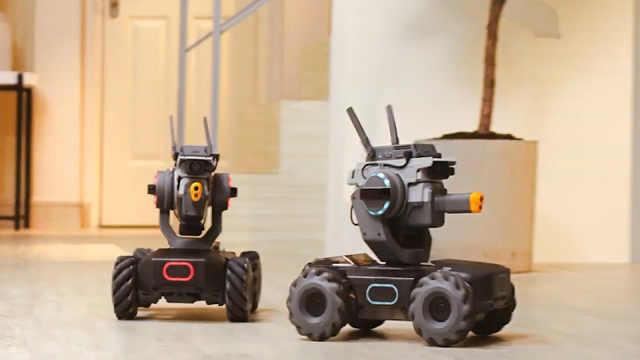 大疆推出首款教育机器人专学编程!