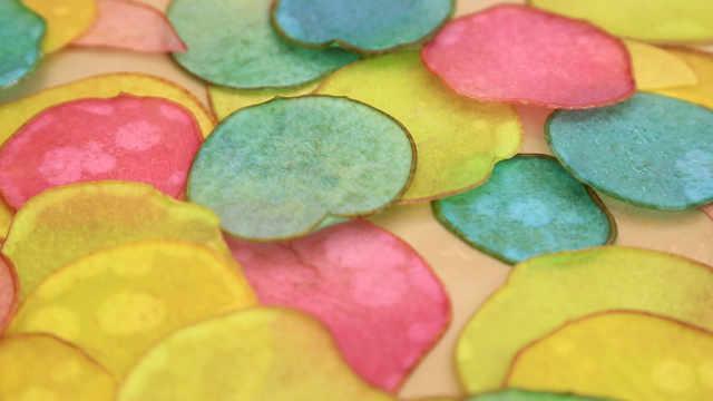 彩色糖梨片:又多了一个装饰法宝!