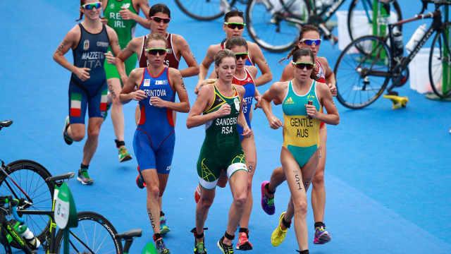 预防中暑,奥运铁三预选赛长跑减半