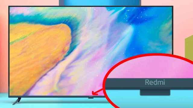 红米电视外观公布:屏「下」摄像头