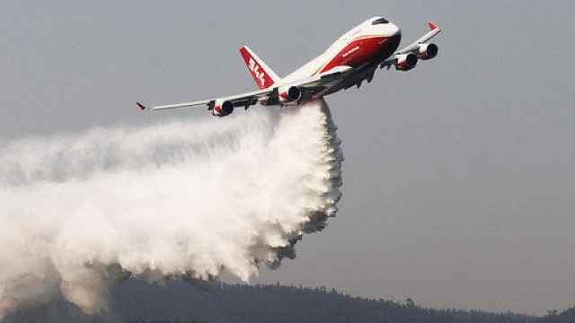 世界最大消防飞机用来灭亚马逊火灾