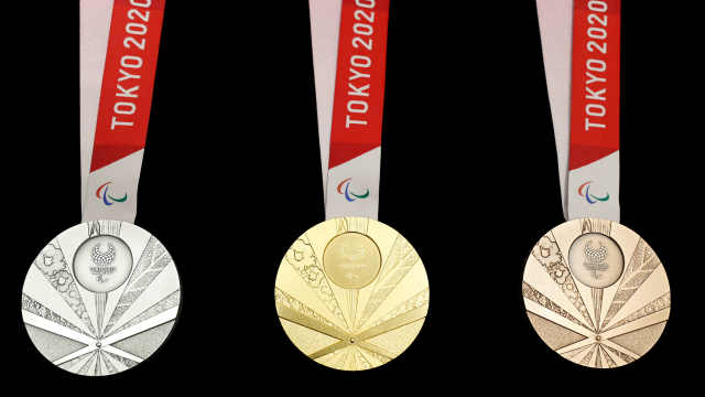东京残奥奖牌:金属来自于电子垃圾