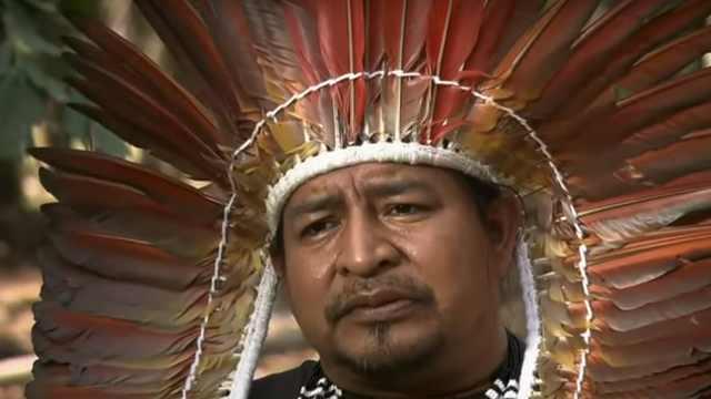 亚马逊土著首领:雨林是全人类的!