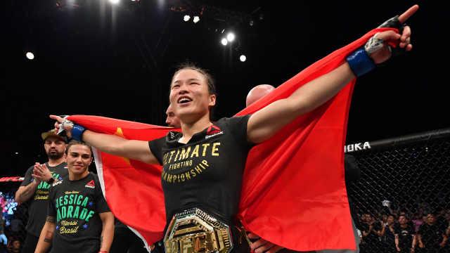 秒杀冠军,UFC总裁:没人敢打张伟丽