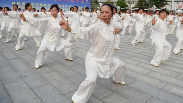 外媒盛赞中国全民健身:比英美都好