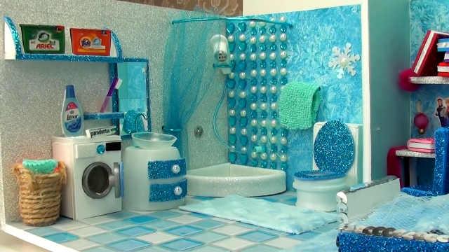 DIY艾莎公主卧室
