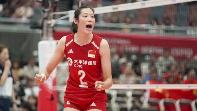 史无前例!朱婷蝉联世界杯MVP