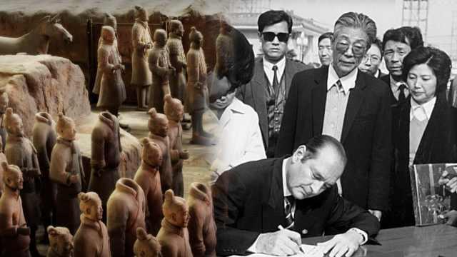 希拉克的中国情:让秦俑成第8大奇迹