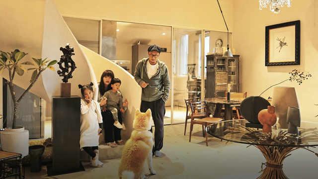 北京一家4口住260m²厂房,常换家具