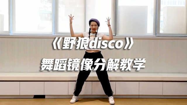 《野狼disco》舞蹈镜像分解教学