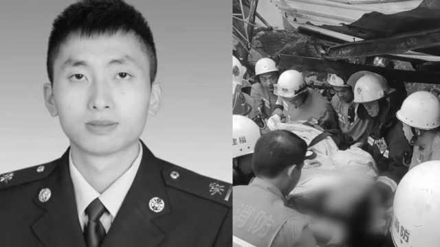 福州26岁消防员牺牲,被批准为烈士