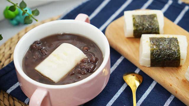 日式红豆年糕汤,冬天一定要吃它!
