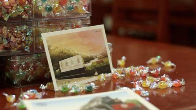 甜!高校为考研学生偷送卡片和糖果