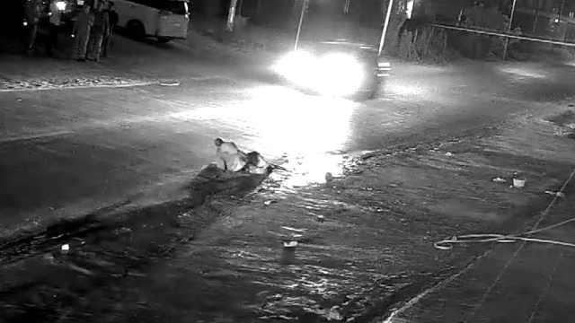 老人遭3车连撞身亡,警方立案侦查