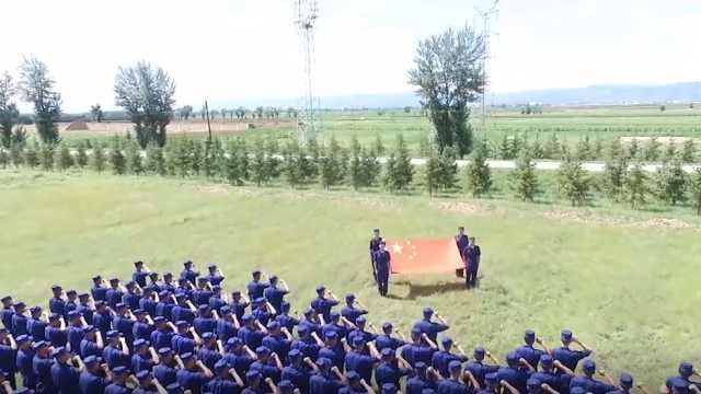 内蒙古森林消防拉歌《我的祖国》