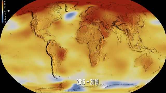 NASA:过去十年是有史以来最热十年