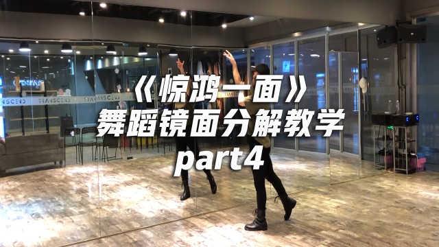 《惊鸿一面》舞蹈分解教学part4