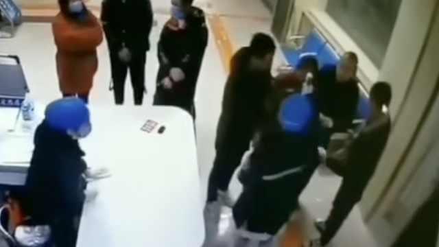 男子拒测体温推搡辱骂护士,被拘5日
