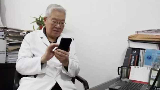 88岁老教授为疫情接热线,曾战SARS