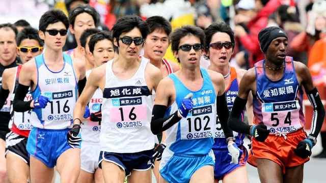 受疫情影响,日本取消多场马拉松