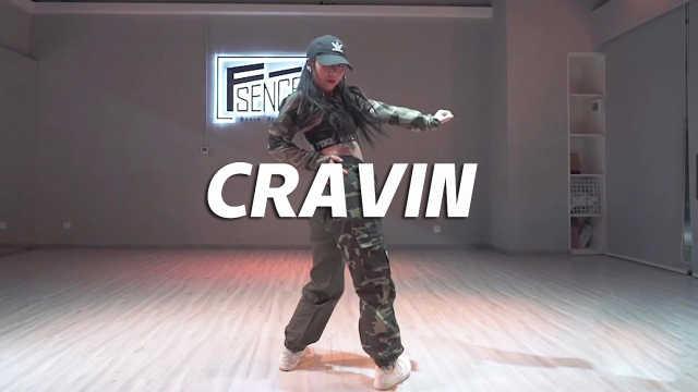 迷彩女孩帅气酷舞《CRAVIN》