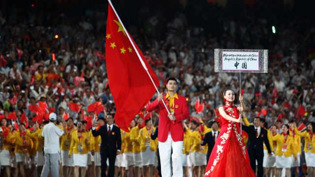 巴赫:奥运开幕式将允许男女2名旗手