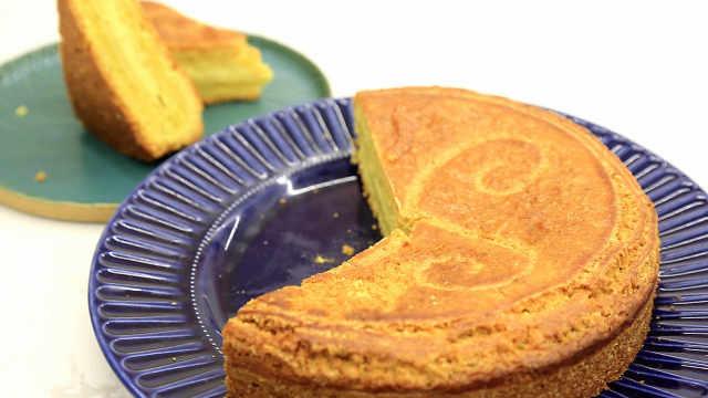 巴斯克蛋糕:差点放在月饼模子里
