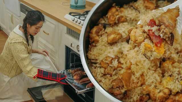 电饭锅就能做糯米鸡,简单又好吃