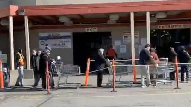 在他乡|加拿大留学生:有超市提前1小时开门,专供老年人购物