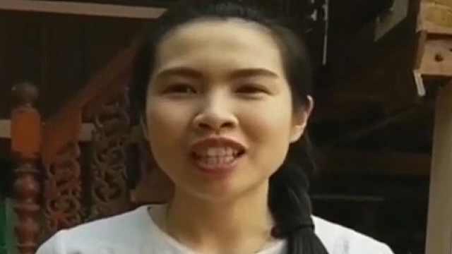 """曾在广西读研的泰国小姐姐这样""""演绎""""《多谢了》"""