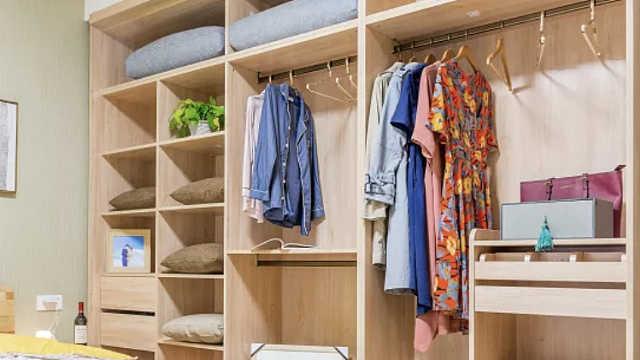 衣柜布局设计这样做,衣服再多也不会乱,放心大胆买买买!