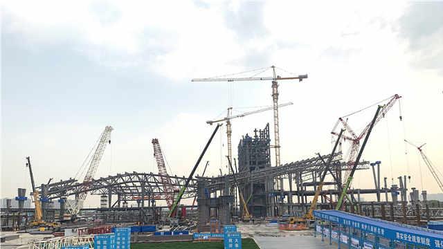 南京江北新区一批地标建筑将陆续竣工开放