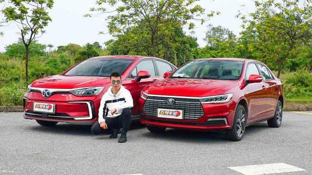 13万买电动车,谁的续航更放心?比亚迪全新秦EV对比北汽EU5