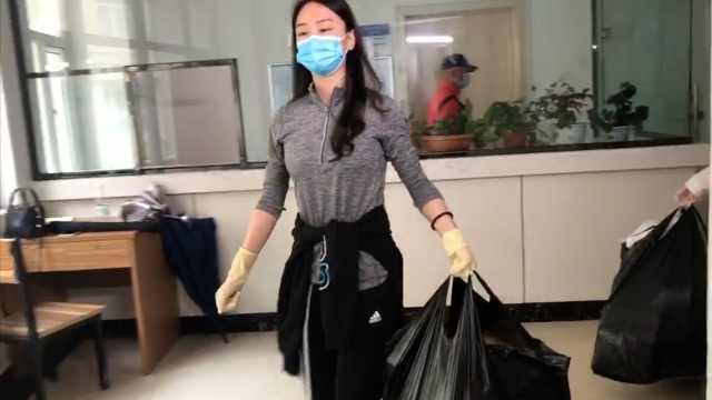90后辅导员在线接单为学生打扫宿舍: 有种当妈的心态