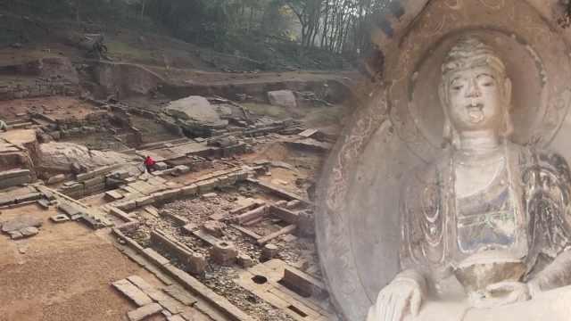 重庆江津沉睡千年石佛寺再露真容!470余尊佛像凿在1块巨石上