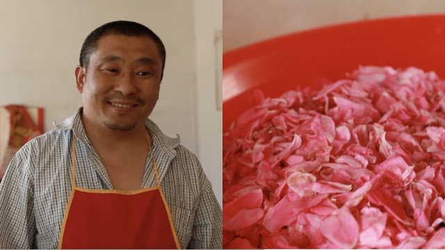 反差萌!山东大汉酷爱玫瑰:从小就爱花,举家搬至玫瑰之乡