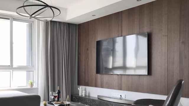 电视背景墙4种设计,现在流行这样玩!