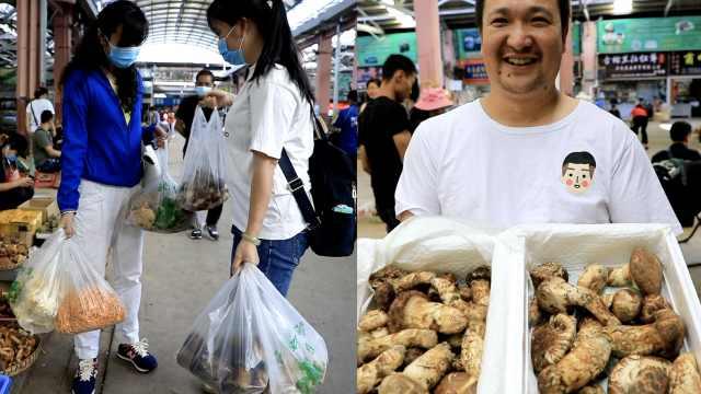 实探全国最大野生菌市场:日销量是疫期6千倍,松茸每公斤过万