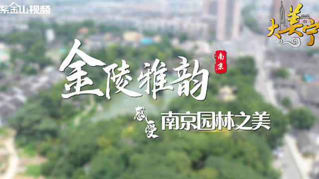 初夏遇见南京园林,古韵清幽凉爽一夏!