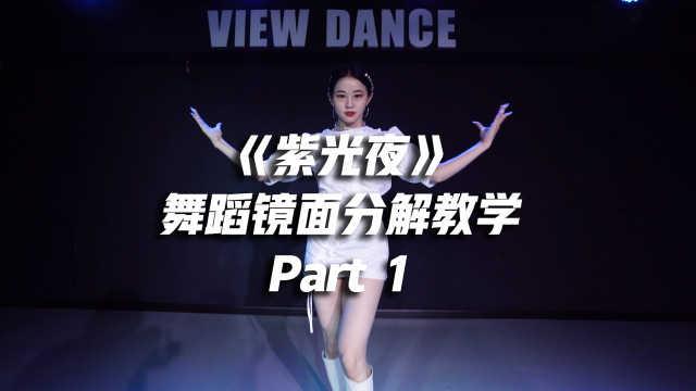 宣美《紫光夜》舞蹈镜面分解教学Part 1