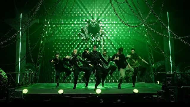 王一博《这!就是街舞第三季》队长舞蹈秀,狮子王降临